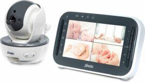 Alecto Baby DVM-200 Babyfoon met camera - Wit-Antraciet