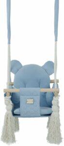 Binnenschommel Blauw - Schommel voor kinderen - Blauw schommel - Baby blauwe schommel