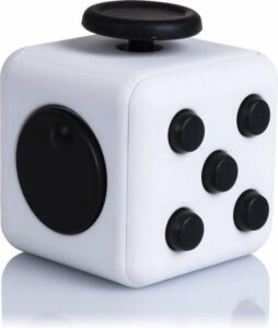 Fidget Cube Friemelkubus - Fidget Toy Pop It - Stressbal - Anti Stress Speelgoed - Zwart-Wit