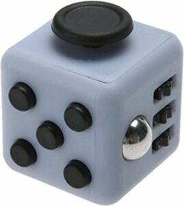 Fidget Cube tegen Stress - Fidget Toys - Pop It - Speelgoed Jongens - Speelgoed Meisjes - Grijs