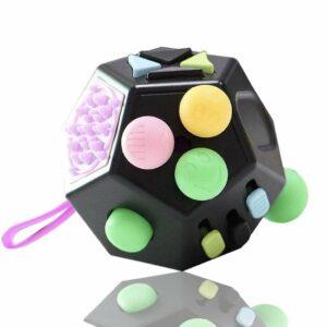Fidget cube 2.0, luxe fidget cube, meer mogelijkheden