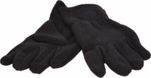 Handschoenen Micro Fleece - Zwart
