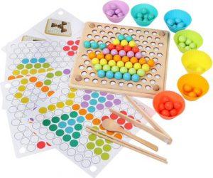 Houten kralenbord - Houten speelgoed - Montessori - Brain training