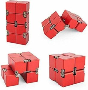 Infinity cube - Fidget toys – Fidget cube – Stressbal - Fidget speelgoed – Infinity cube fidget toy – Rood