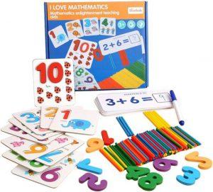 Montessori Wiskunde speelgoed