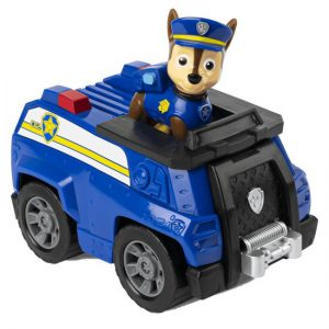 PAW Patrol Chase Voertuig met Figuur - Speelgoedvoertuig