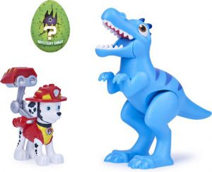 PAW Patrol, Dino Rescue Marshall and Dinosaur Action Figure-set, voor kinderen vanaf 3 jr.