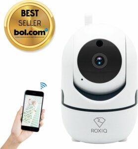 Roxiq babyfoon 1080P HD wifi camera - met app functie - inclusief bewegingsmelding