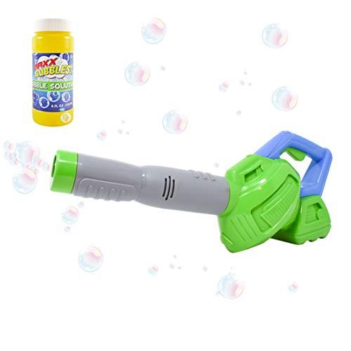 Zonnige dagen Entertainment Maxx Bubbles speelgoed bellenblazer met navuloplossing - Bubble speelgoed voor jongens en meisjes | Outdoor zomer plezier voor kinderen en peuters